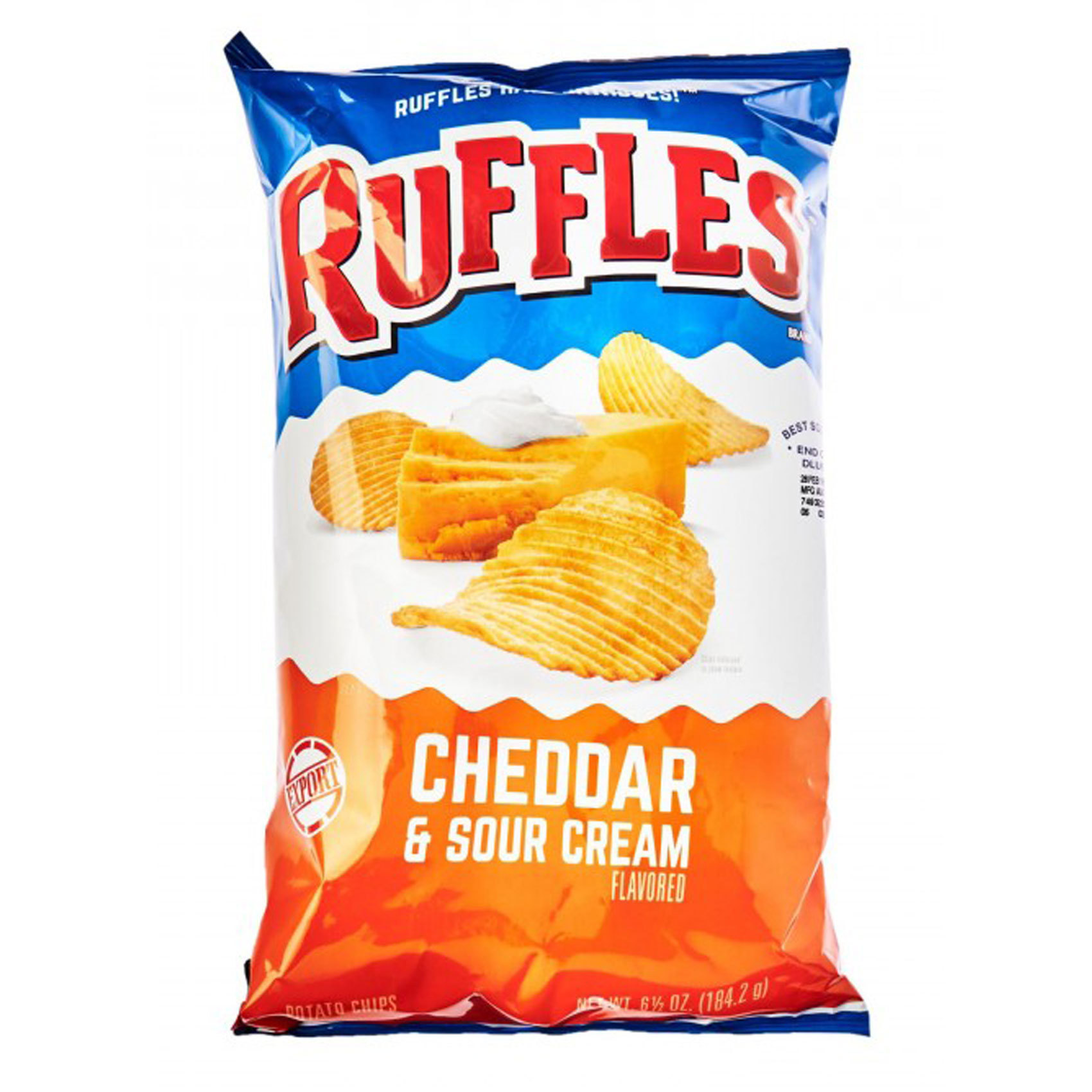 RUFFLES CHEDDAR 184.27GR