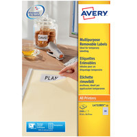 Avery Removable Label L4732REV-25