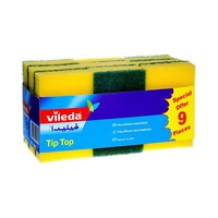 Vileda Scourer Tip Top 9 Pieces