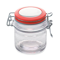 Maxwell & Williams Cosmopolitan Colours Clip Top Jar Red 100ML