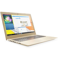 "Lenovo Notebook i520 Core i7-7500U 16GB RAM 2TB Hard Disk 4GB Graphic Card 15.6"""" Gold"