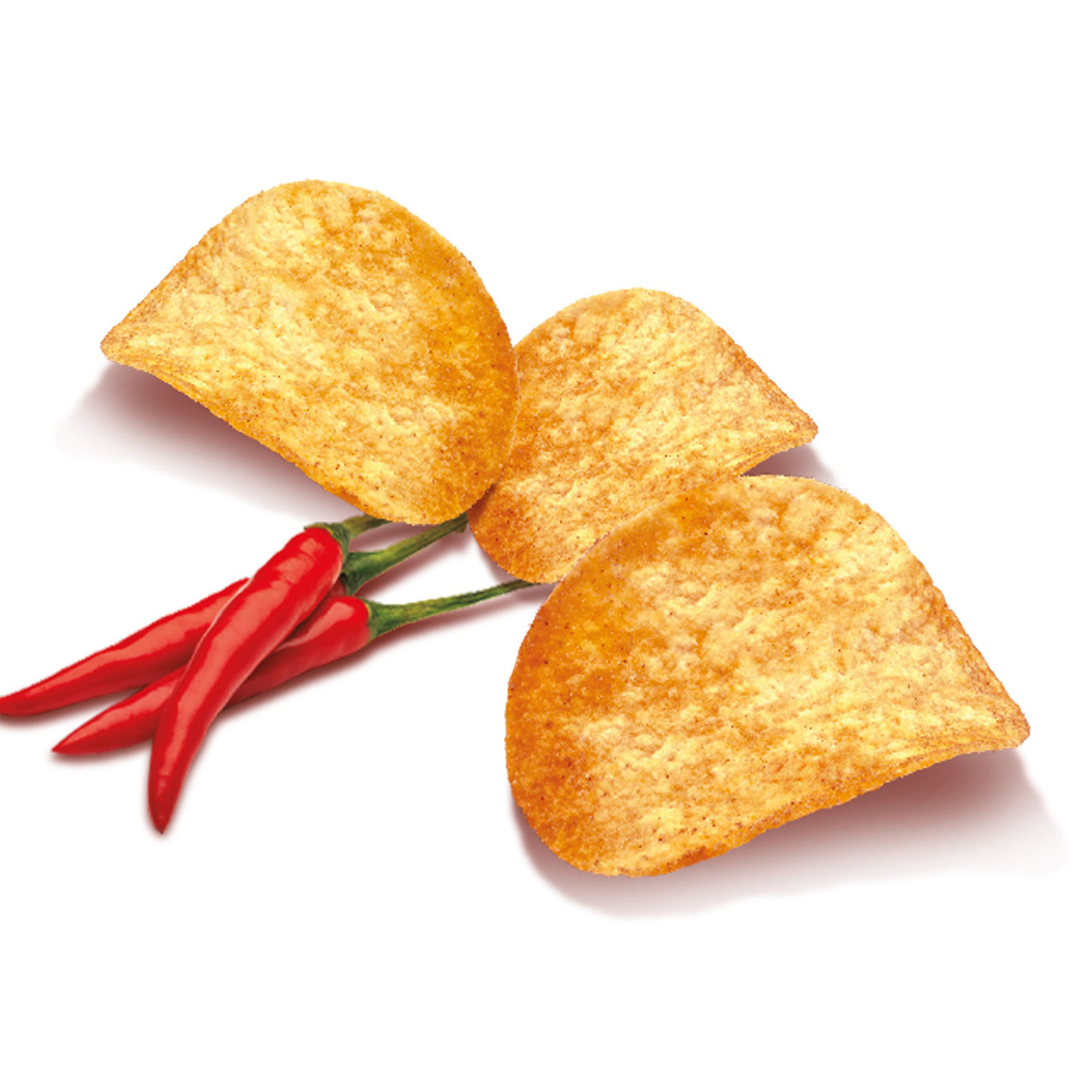 FIESTA POTATO CHIPS RED HOT 100G