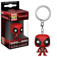 Funko Pocket Pop -Keychain: Marvel - Deadpool with Swords