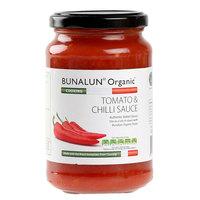 Bunalun Organic Tomato & Chilli Sauce 350g