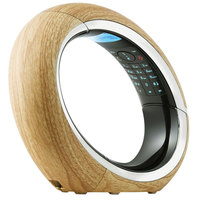AEG Cordless Phone ECLIPSE15 Single Wooden