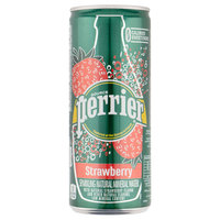 Perrier Sparkling Mineral Water Strawberry 250ml