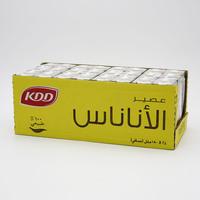كي دي دي عصير أناناس 180 مل - 24 حبة