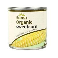 Suma Organic Sweetcorn Tinned 340g