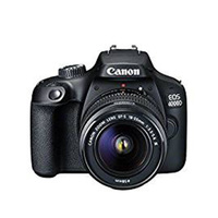 Canon Camera DSLR EOS 4000D With EF-S18-55 Lens Black