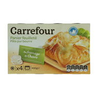 Carrefour puff pastry goat 4x100 g