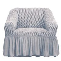 Tendance's Sofa Cover 1 Seater Grey