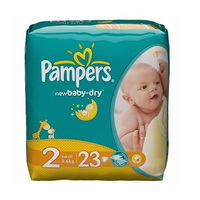 Pampers Diapers Active Baby Junior MIC 23 Pieces