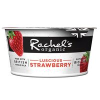 Rachel's Organic Forbidden Fruits Strawberry Yogurt 150g