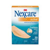 Nexcare Bandages Active 30 Pieces