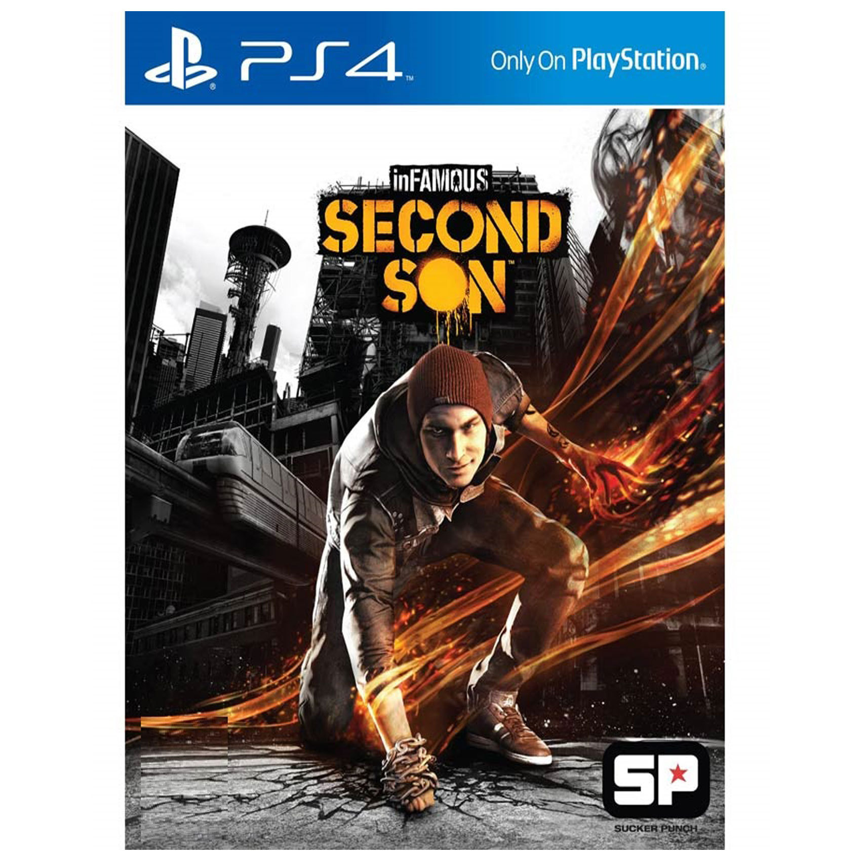 SONY PS4 INFAMOUS SECOND SON