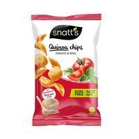 Snatts Quinoa Chips With Basil 85GR