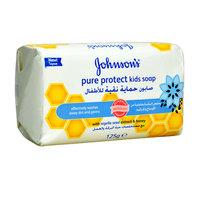 جونسون حماية نقية صابون للأطفال 125 غرام