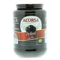 Acorsa Black Whole Olives 350g