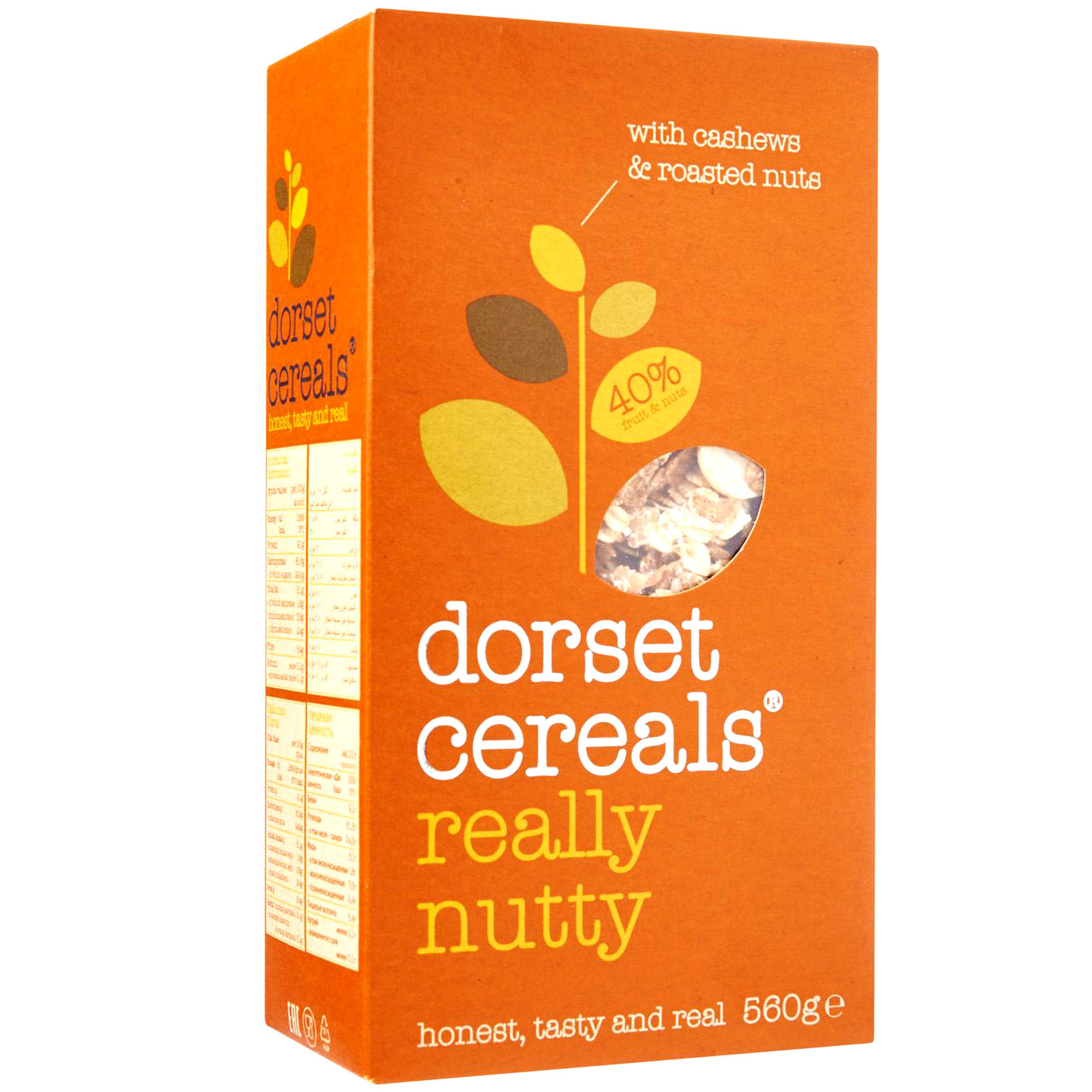 DORSET REALLY NUTTY MUESLI 560G
