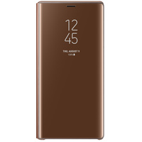 SAMSUNG CASE NOTE9 CLEAR BROWN