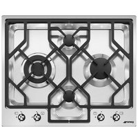 Smeg Built-In Gas Hob 4Burner PGF64-4 62CM