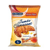 Eurocake Honey Filled Jumbo Croissant 300g