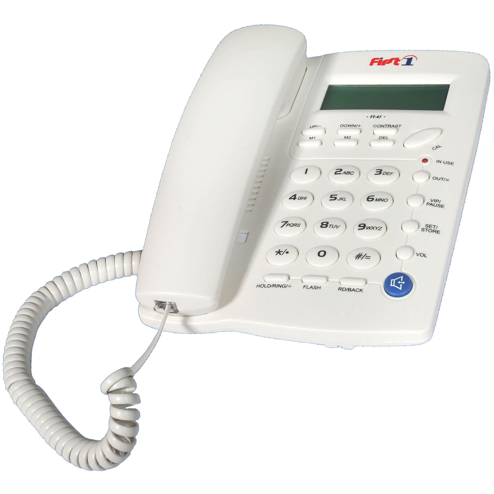 FIRST1 FT-47 CORDED PHONE