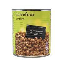Carrefour Lentils 800 Gram