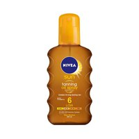 Nivea Sun Oil Spray Deep Tanning 200ML