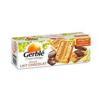 Gerble Biscuit Milk & Chocolate 230GR