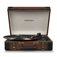 Crosley Executive Deluxe Turntable CR6019D Brown