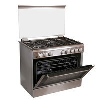 Hoover 90X60 Cm Gas Cooker FGC9060-3DE 5Burners Electric Oven