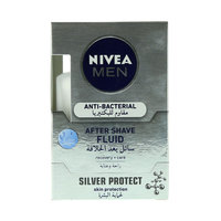Nivea Anti-Bacterial After Shave Fluid For Men 100 ml