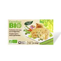 Carrefour Bio Organic Galet Soya Recet 200GR