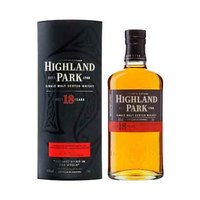 Highland Park 18 Years Old Single Malt Scotch 43% Alcohol Whisky 70CL