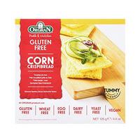Orgran Gluten Free Toasted Corn CrispBread 125GR