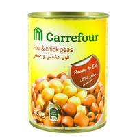Carrefour Foul Medammas With Chick Peas 400 g