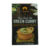 deSiam Thai Meal Kit Green Curry 260g