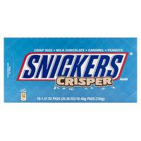 Snickers Milk Chocolate Crisper 40gx18