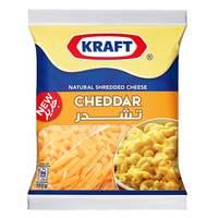 Kraft Cheese Shreds Cheddar 180g