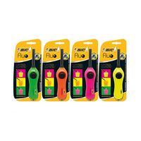 Bic Mega Utility Lighter Fluo 2015 Assorted Color