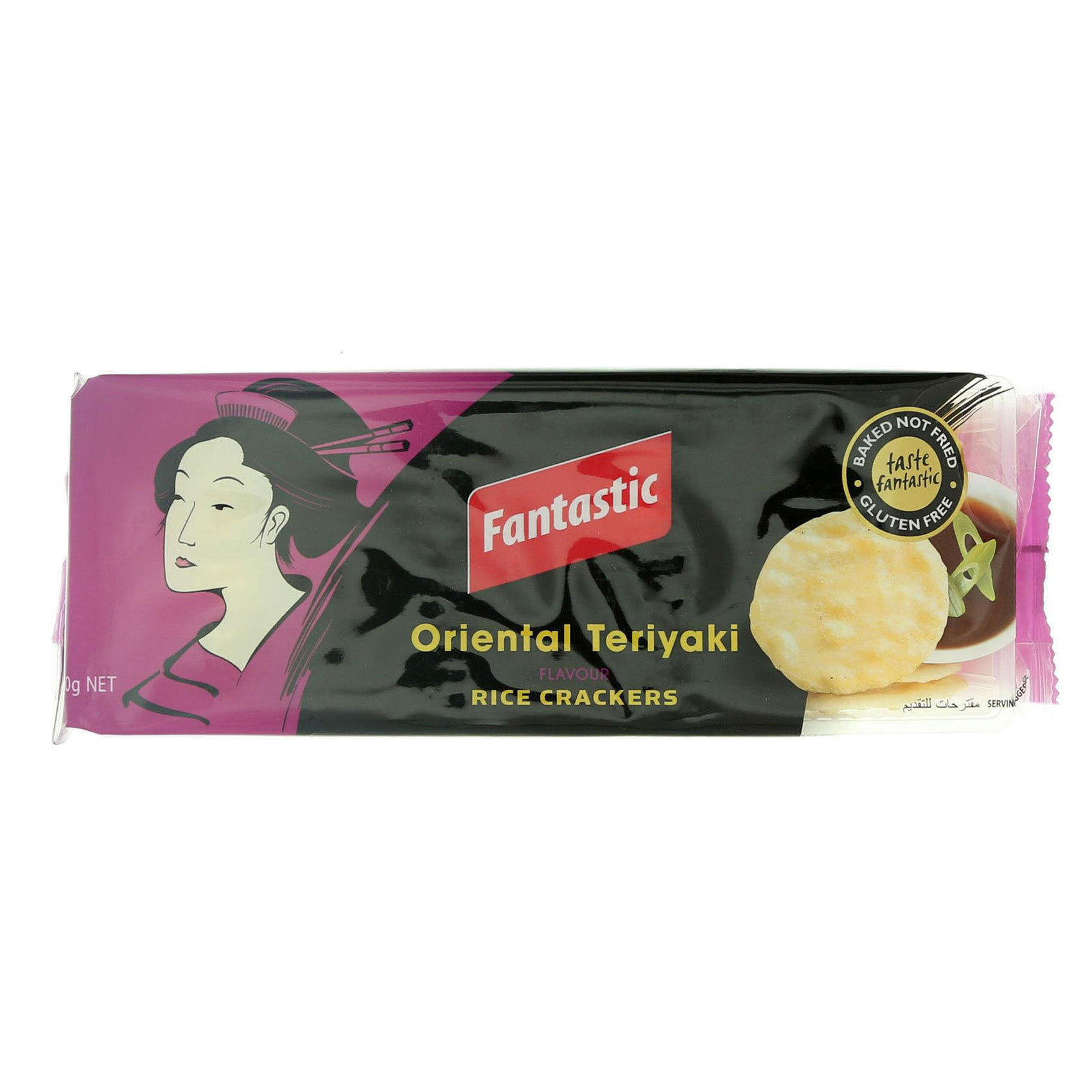 FANTASTIC RICE CRACKER TERIYAKI100G