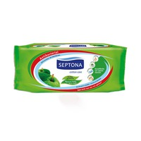 Septona Wipes Green Apple 60 Sheets