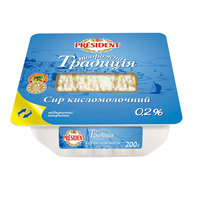 President Cottage Cheese 0% 200g