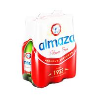 Almaza Beer Bottle 33CL X6
