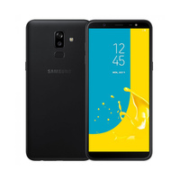 SAMSUNG Smartphone J8 64GB Nano Dual Sim Card Android Black