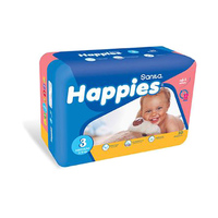 Happies Diapers Value Pack Medium