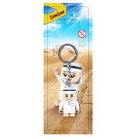 BanBao Plastic Arabic Line Tobees Keychain - White
