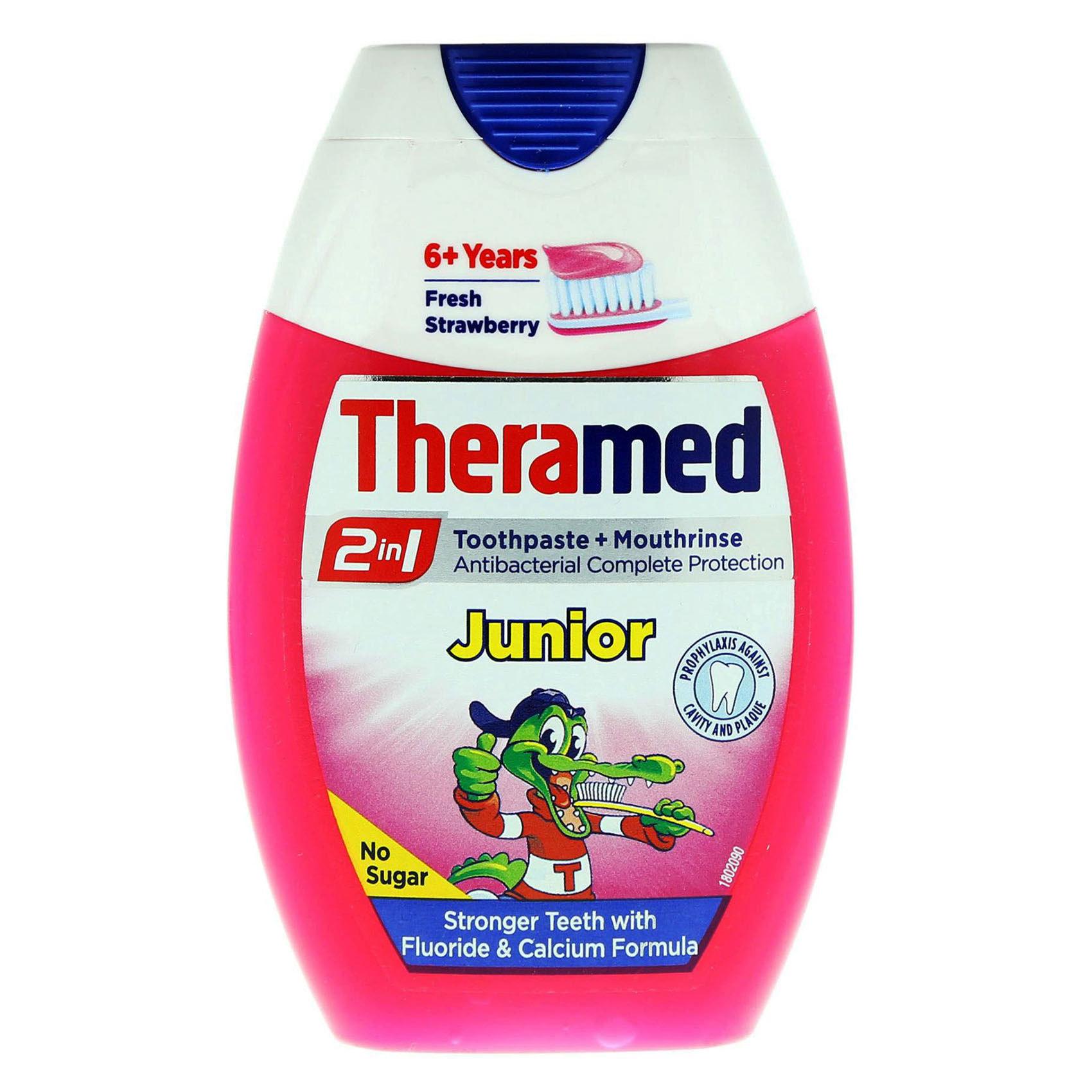 THERAMED T/PASTE JUNIOR 75ML