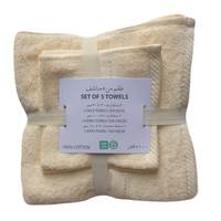 1 Pc Bath Towel+ 2 Pc Hand Towel+2 Pc Face Towel